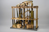 view Model of McNaught Type Compound Steam Engine digital asset: McNaught System of Compounding