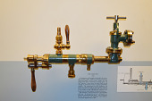 view Giffard's Patent Model of a Steam Boiler Injector – ca 1860 digital asset number 1