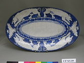 view Dedham Pottery platter digital asset number 1
