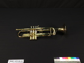 view Severinsen-Akright B-Flat Trumpet, used by Doc Cheatham digital asset number 1