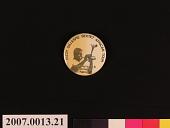 view Dizzy Gillespie Sextet African Tour Button digital asset number 1