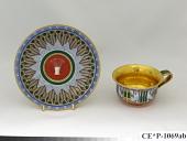 view Sèvres porcelain cup and saucer digital asset number 1
