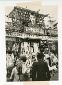 view Chinese Welcome Allied Navy Men to Shanghai digital asset: Chinese Welcome Allied Navy Men to Shanghai, 1945