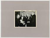 view Four men in tuxedos digital asset: Four men in tuxedos (Dulles / Harding / Repplier - Ad Council)