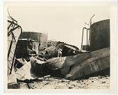 view Oil field after bombardment digital asset: Oil field after bombardment