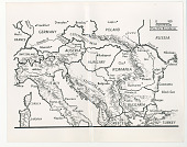 view Map of southern and eastern Europe digital asset: Map of southern and eastern Europe