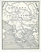 view Map of Southeastern Europe digital asset: Map of Southeastern Europe