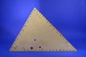 view Drawing Instrument, Trimetric Ruler digital asset: Drawing Instrument, Trimetric Ruler