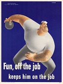 view Fun, off the job keeps him on the job digital asset: public health poster