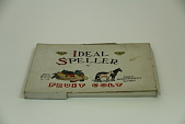 """view Ideal Speller Child Improvement Game digital asset: """"Ideal Speller"""" educational game in white box illustrated with images of a fruit basket and two horses on the front."""