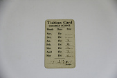 view Segregated School Tuition Card for Lillian T. M. Arnold digital asset number 1
