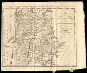 view A Map Of The States Of New Hampshire And Vermont digital asset number 1