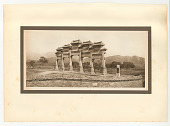 view Gateway at Chu Yung Kuan digital asset: Photograph by Donald Mennie, 1927, Gateway at Chu Yung Kuan, part of the Pageant of Peking portfolio