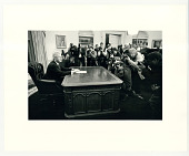 view Press photographers and Bill Clinton digital asset: Photograph by Diana Walker