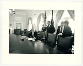 view Cabinet Room, the White House digital asset: Photograph by Diana Walker