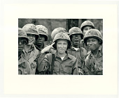 view Group of women in military uniform digital asset: Photograph by Diana Walker