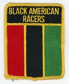 view Black American Racers team patch, 1974 digital asset number 1