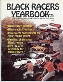 view Black American Racers Association yearbook, 1974 digital asset number 1
