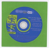 view DVD representing the 2006 Gay Games in Chicago digital asset: Gay Games CD