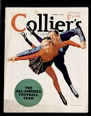 view Collier's Magazine with an article on the All-American Football Team digital asset number 1