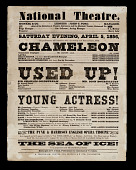 view The National Theatre: The Chamelon, Used Up, The Young Actresses digital asset number 1