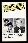 view Westbury Music Fair; Stev Lawrence & Eydie Gorme, Milton Berle digital asset number 1