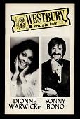 view Westbury Music Fair: Dionne Warwicke and Sonny Bono digital asset number 1