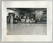 view Men at counter in a diner digital asset: Photograph by Roy Zalesky