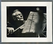 view Violinist with music stand digital asset: Photograph by Roy Zalesky