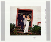 view Wedding photo of John F. Kennedy, Jr. and Carolyn Bessette digital asset: Photograph by Denis Reggie