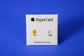 view Advertising Button, Apple, HyperCard digital asset: Macintosh Button, HyperCard Freedom to Associate