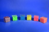 view A Group of Six Polycube Puzzles, Known as Impuzzables digital asset: A Group of Six Polycube Puzzles, Known as Impuzzables, in Cases