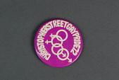 """view Christopher Street Gay Pride '72 digital asset: """"Christopher Street Gay Pride '72"""" button"""