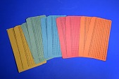 view CDC 5081 Punch Cards digital asset: CDC 5081 Punch Cards