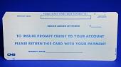 view IBM J89620 Deposit Punch Card digital asset: IBM J89620 Bank Punch Card