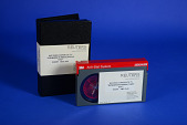 """view Documentation on Videocassette, Reuters Corporate TV """"Windows 95 Media Event NYC"""" digital asset: Documentation on Videocassette by Reuters, Reuters Corporate TV 'Windows 95 Media Event NYC;' videocassette and container."""