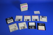 view Software on Floppy Disks for the Tandy 1400 Microcomputer digital asset: Software on Floppy Disks for the Tandy 1400 Microcomputer