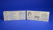view Punch Card, IBM 148331 digital asset: Punch Cards Used as an Advertisement, IBM 148331