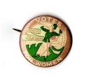 view Women's Political Union Button digital asset number 1