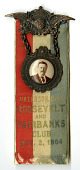 view Badge, Theodore Roosevelt, 1904 digital asset number 1