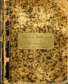 view United States Mint Accounts Book, United States, ca 1856 - 1903 digital asset: Mint Cabinet Accounts and Memoranda