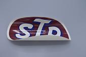 view Sticker, STP, large oval digital asset number 1