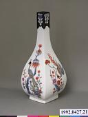 view Meissen quadrangular bottle (Hausmaler) digital asset number 1