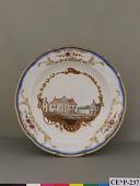 view Meissen porcelain dessert plate (Stadholder Service) digital asset number 1