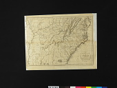 view <i>MAP / of the / SOUTHERN STATES / of / AMERICA, / Comprehending / MARYLAND, VIRGINIA, KENTUCKY, / TERRITORY Sth of the OHIO, NORTH / CAROLINA, TENNESSEE GOVERNMT, / SOUTH CAROLINA, & GEORGIA / By J. Russell</i> digital asset number 1