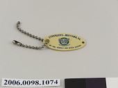 view Key chain or luggage tag digital asset number 1