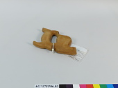 """view """"jumped"""" saw handle in rough (beech wood) digital asset number 1"""