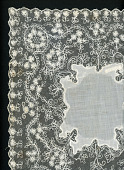 view handkerchief, embroidery, white work digital asset number 1