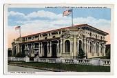 view 1972 Panama-Pacific International Exposition, San Francisco, 1915, The Press Building. digital asset: 1972 Panama-Pacific International Exposition, San Francisco, 1915, The Press Building.