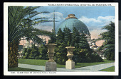 view 1980 Panama-Pacific International Exposition, San Francisco, 1915, Glass Dome of Horitcultural Palace. digital asset: 1980 Panama-Pacific International Exposition, San Francisco, 1915, Glass Dome of Horitcultural Palace.